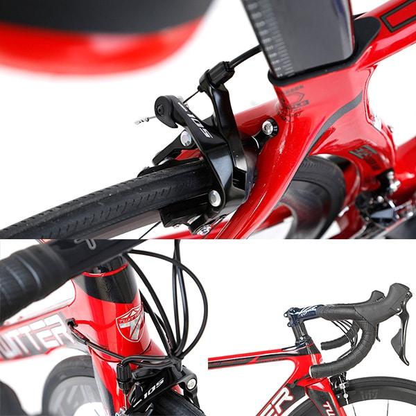 Thiết kế khí động lực học ưu việt xe đạp twitter sniper 2.0