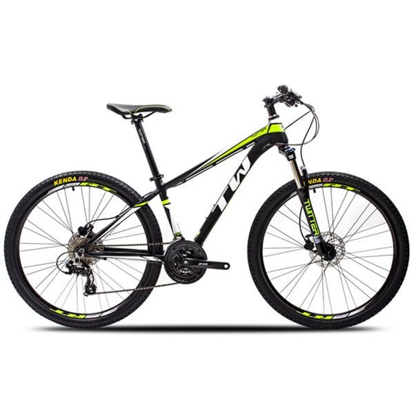 xe đạp twitter 3700 màu đen xanh lá