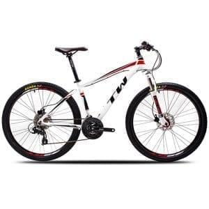 xe đạp twitter 3700 màu trắng đỏ