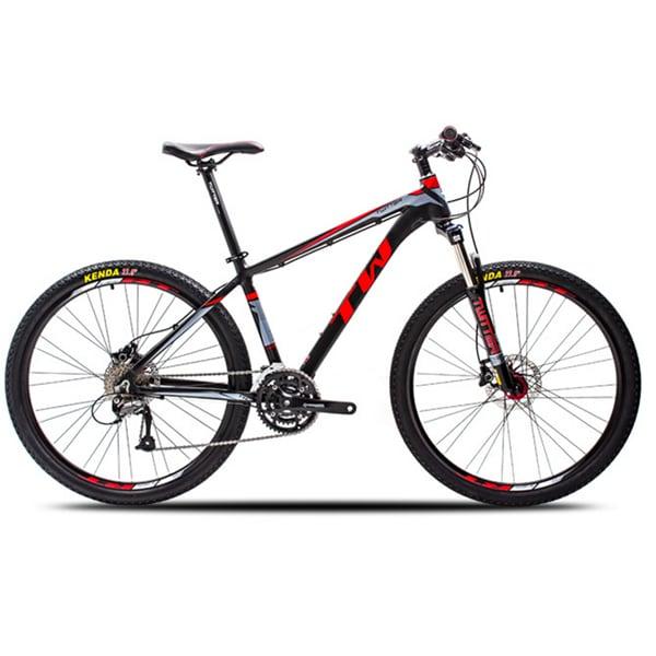 xe đạp twitter 3900xc màu đen đỏ