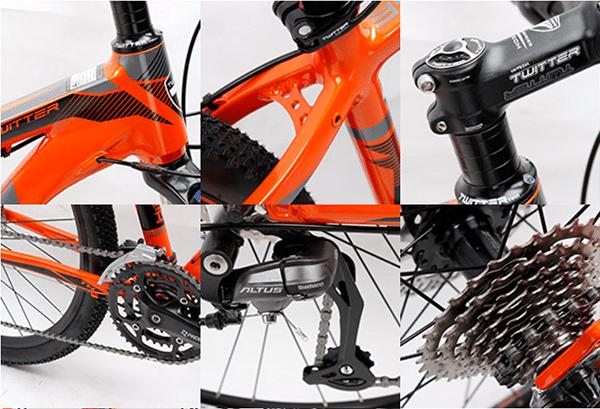 thiết kế xe đạp twitter 3900xc