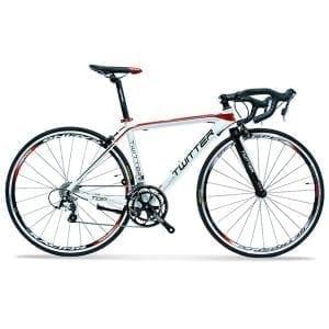xe đạp twitter 736 màu trắng đỏ