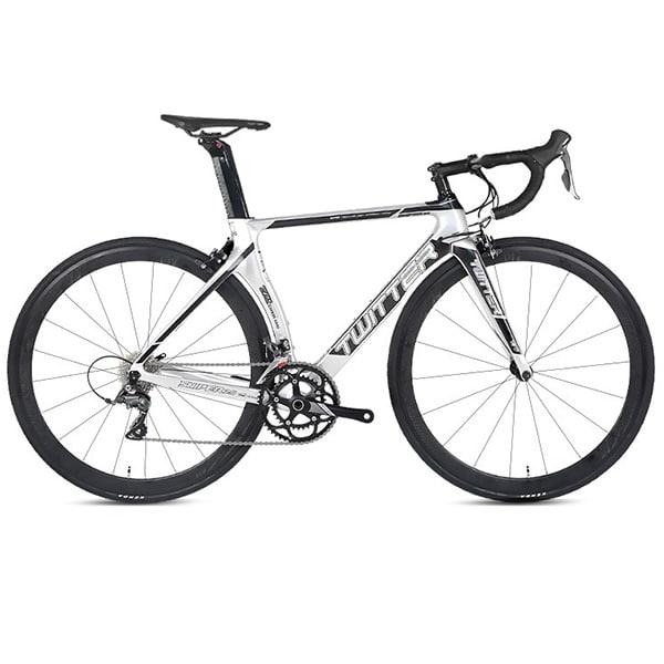 xe đạp twitter sniper 2.0 màu trắng
