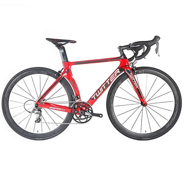 xe đạp twitter sniper 2.0 màu đỏ