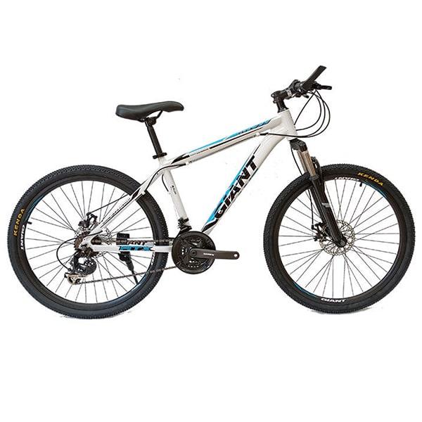 xe đạp giant atx 777 màu trắng xanh