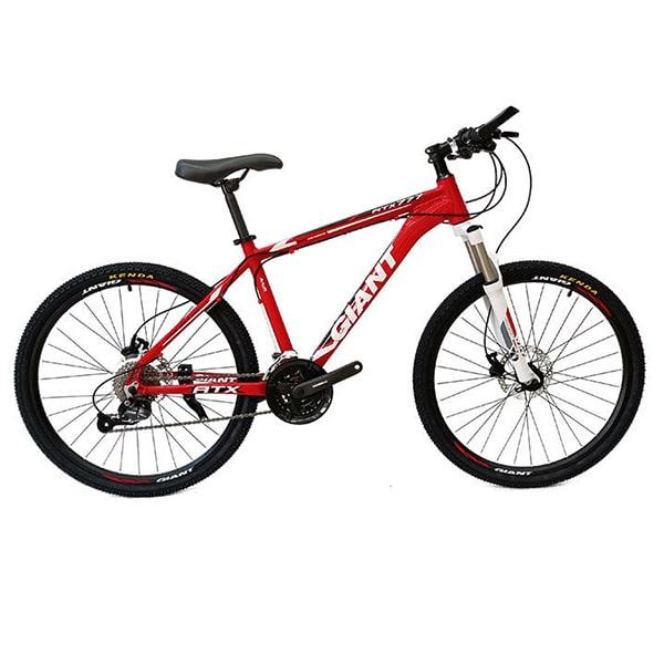 xe đạp giant atx 777 màu đỏ trắng
