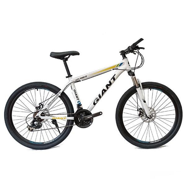xe đạp giant atx 777 màu trắng đen