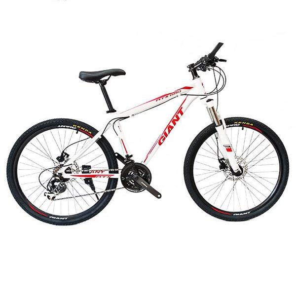 xe đạp giant atx 777 màu trắng đỏ