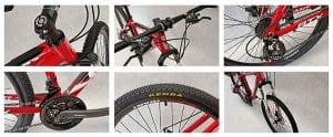 Chi tiết cấu hình xe đạp giant atx 777