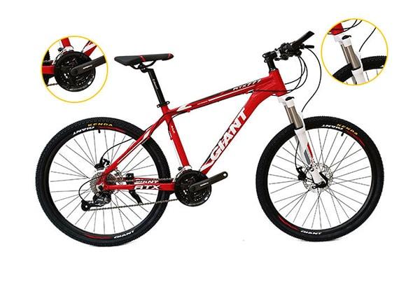 Hệ thống truyền động xe đạp giant atx 777