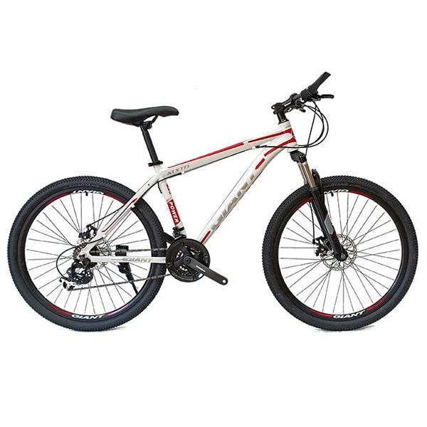 xe đạp giant atx 777 màu ghi đỏ