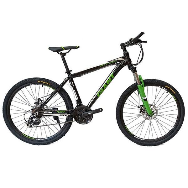 xe đạp giant atx 777 màu đen xanh