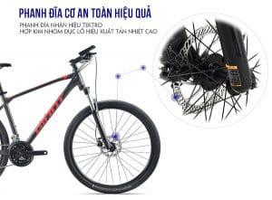 Phanh đĩa thủy lực xe đạp giant atx 810