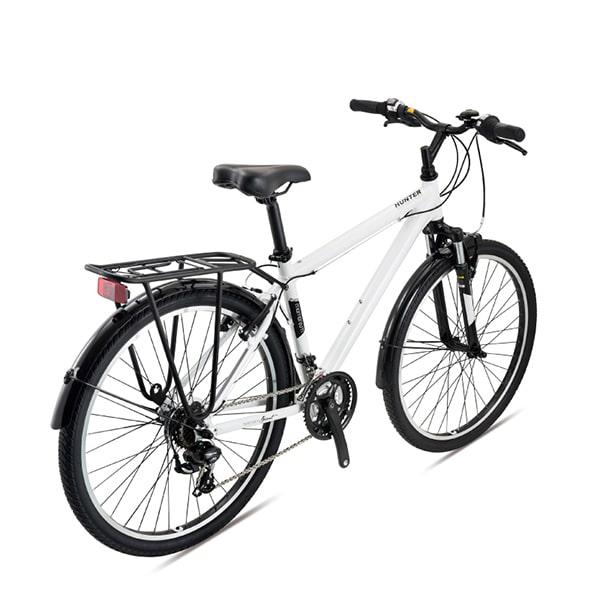 xe đạp giant hunter 2.0 màu trắng chụp nghiêng