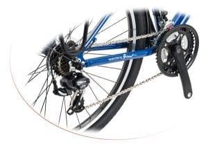 Hệ thống truyền động xe đạp giant hunter 2.0