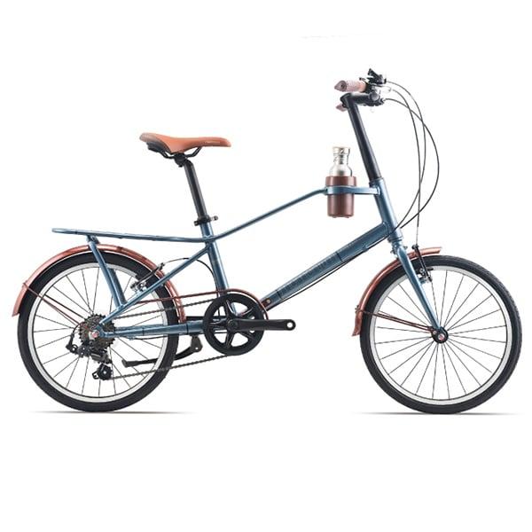 xe đạp giant momentum iNeed Espresso màu xanh đen