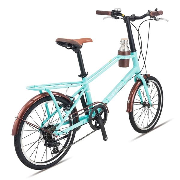 xe đạp giant momentum iNeed Espresso màu xanh dương chụp nghiêng