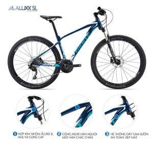khung sườn xe đạp giant xtc 800