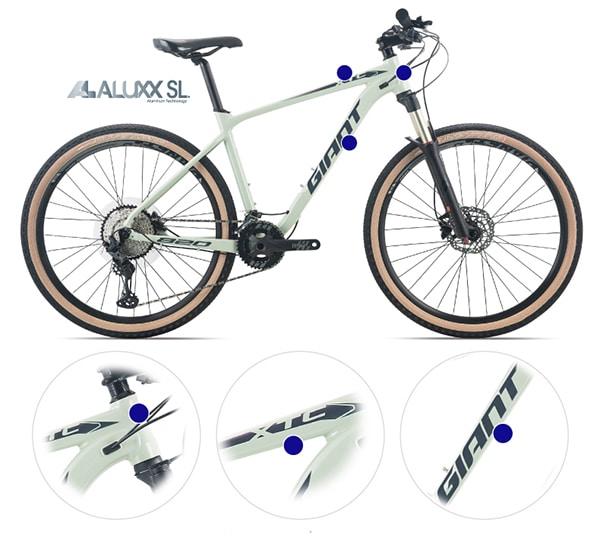 Giảm trọng lượng xe đạp cho trẻ bằng cách lựa chọn khung sườn cacbon hoặc hợp kim nhôm