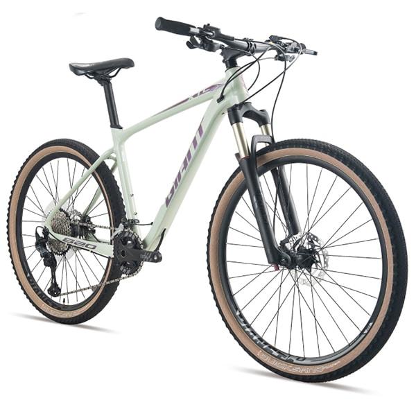 xe đạp giant xtc 820 màu xanh coban chụp nghiêng