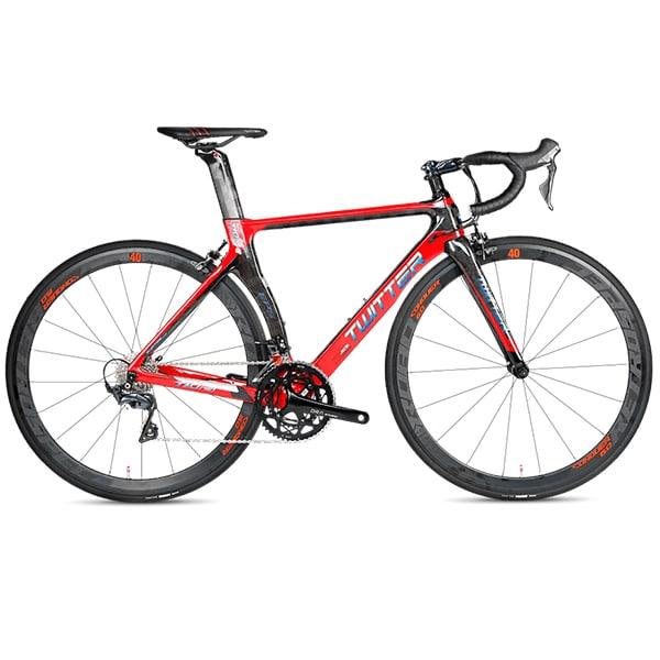 xe đạp twitter t10 pro màu đỏ