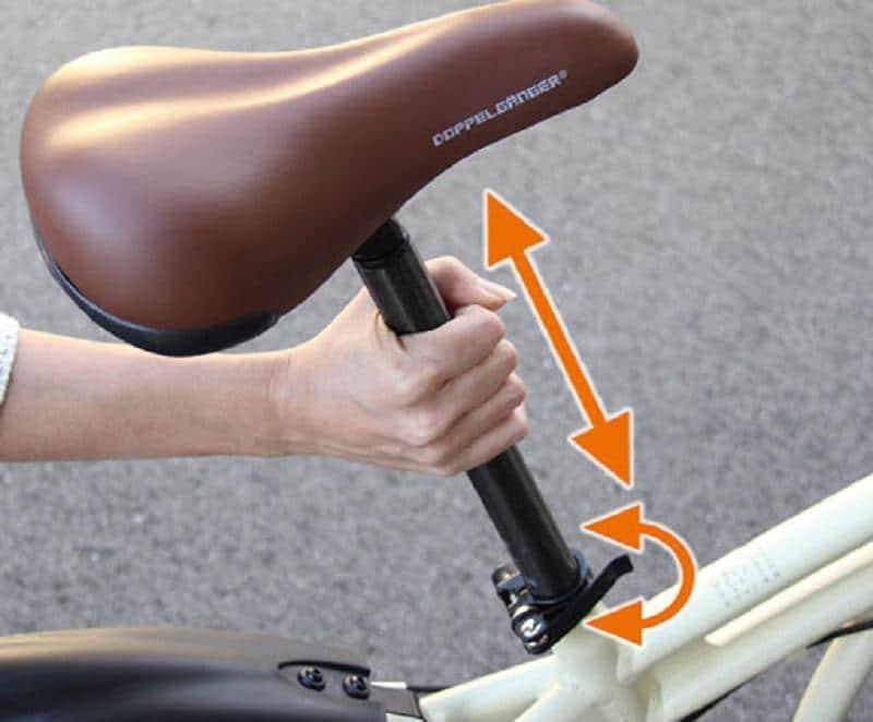 cách nâng hạ yên xe đạp martin