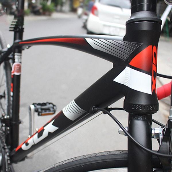 Khung sườn hợp kim nhôm xe đạp galaxy lp400