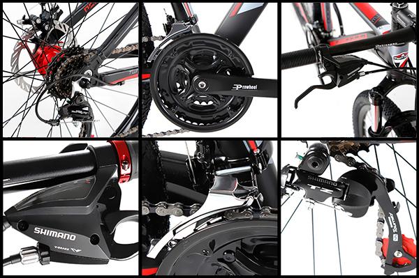 Hệ thống truyền động xe đạp twitter 3000