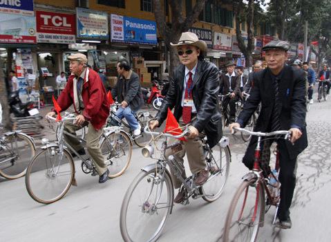 Xe đạp Thống Nhất cổ nhãn hiệu độc lập