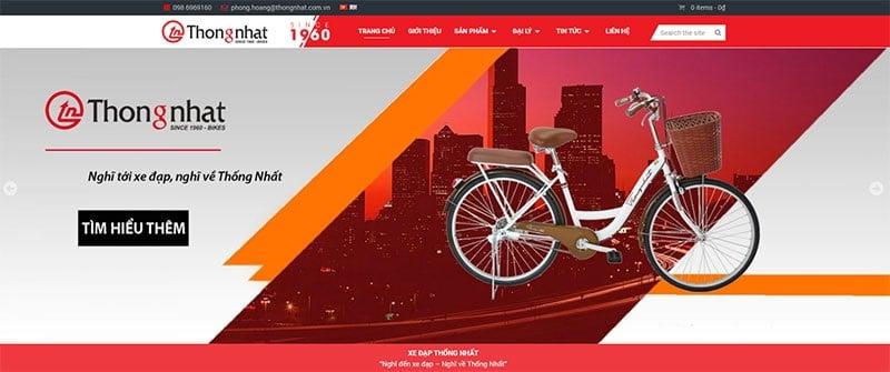 Giới thiệu về thương hiệu xe đạp Thống Nhất