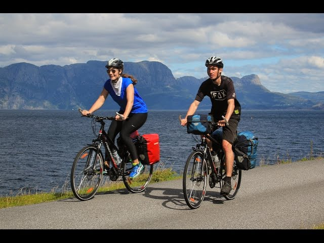 xe đạp thể thao touring bike