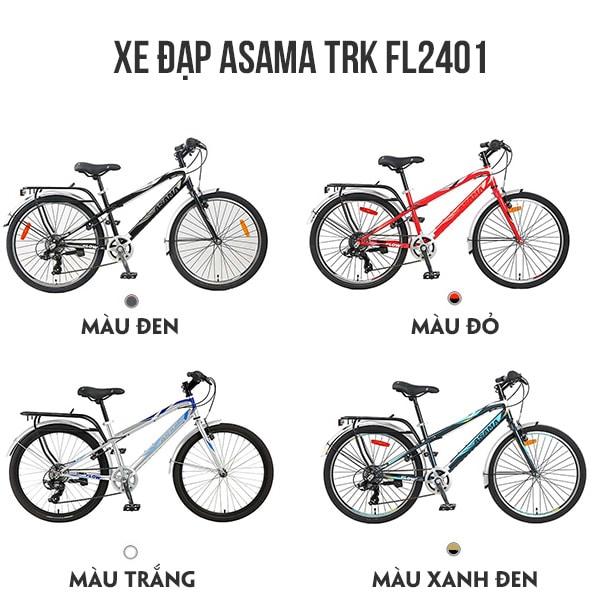 4 màu sắc xe đạp asama trk fl2401