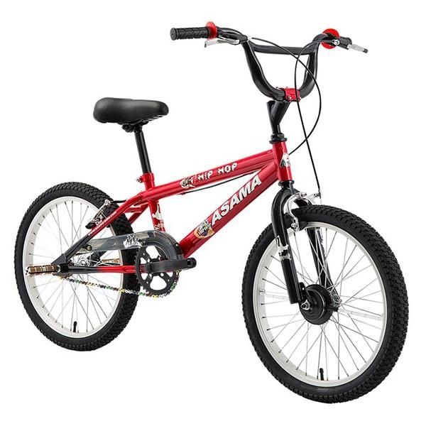 Xe đạp trẻ em asama amt 01 màu đỏ chụp nghiêng