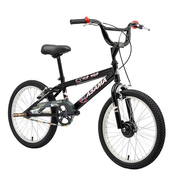 Xe đạp trẻ em asama amt 01 màu đen chụp nghiêng