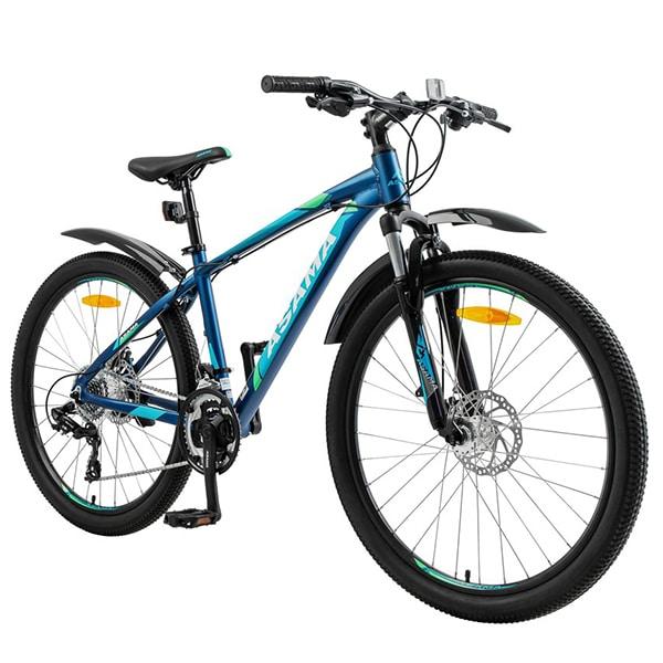bộ khung thép và lớp sơn PU bảo vệ xe đạp asama mtb 2605