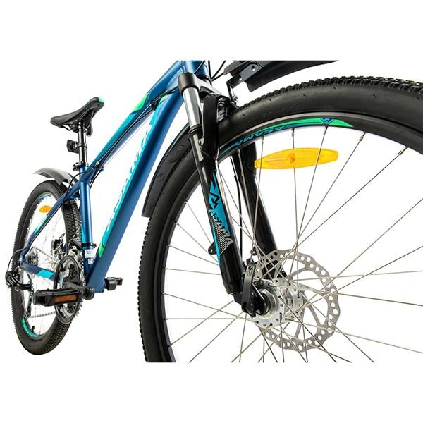 Hệ thống phanh đĩa cơ trên xe đạp asama mtb 2605