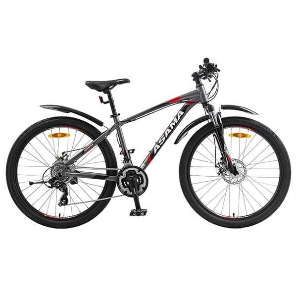 Xe đạp thể thao asama mtb 2605 màu đỏ xám