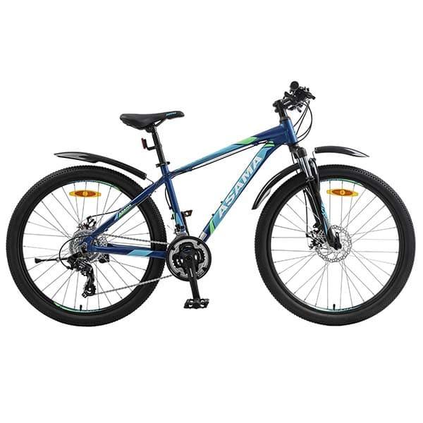 Xe đạp thể thao asama mtb 2605 màu xanh