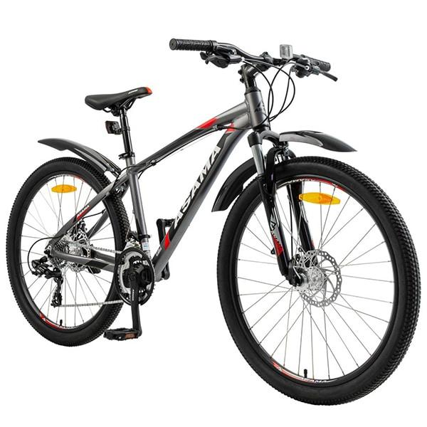 Linh kiện tới từ các thương hiệu nổi tiếng trên xe đạp asama mtb 2605