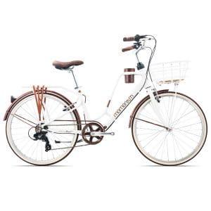 xe đạp giant momentum latte 7 màu trắng