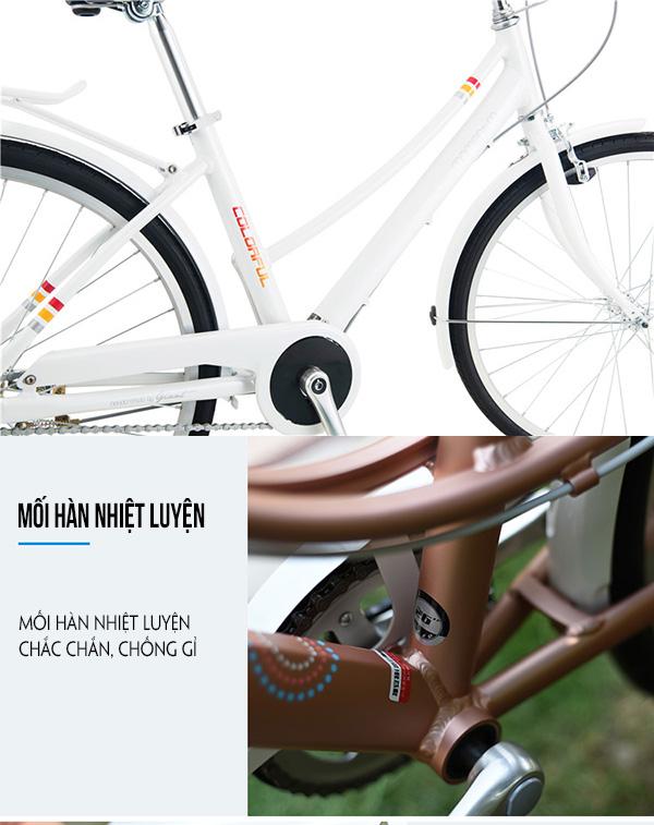 khung sườn hợp kim nhôm xe đạp giant ineed 1500
