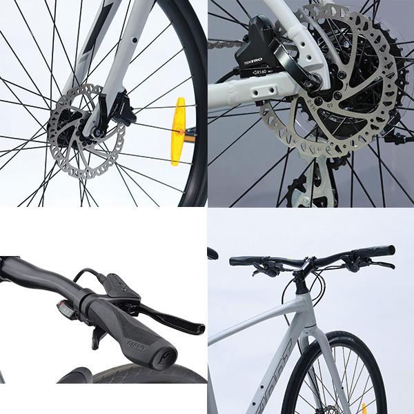 Phanh đĩa dầu xe đạp giant escape 2