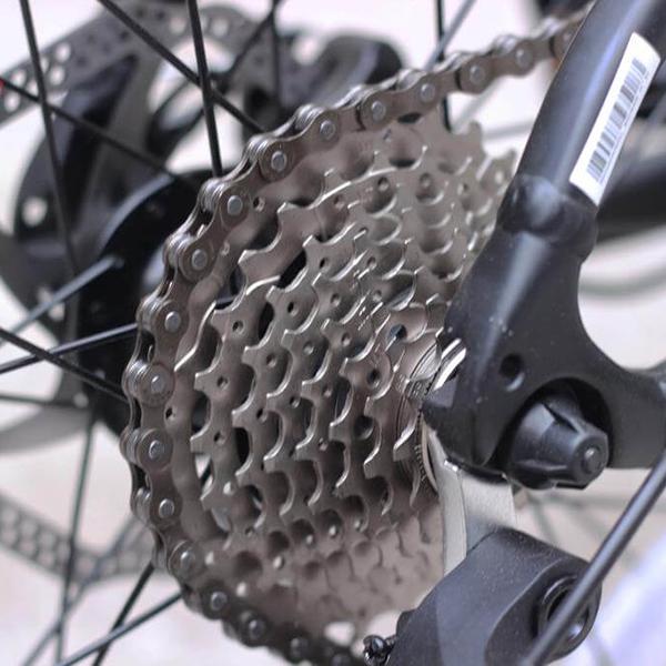 Hệ thống truyền động xe đạp gấp galaxy K3
