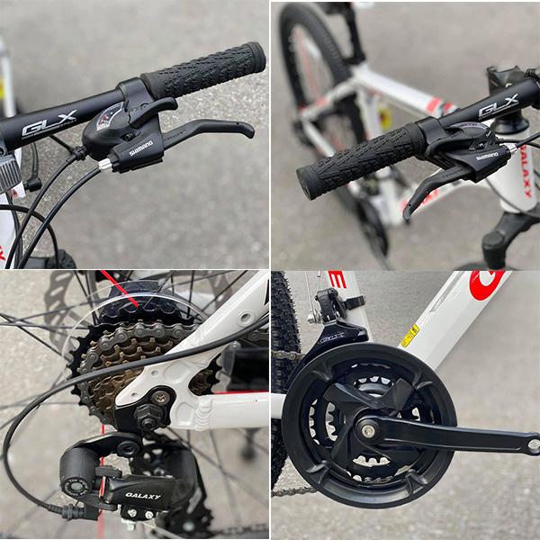 Hệ thông truyền động shimano 21 cấp xe đạp galaxy a5
