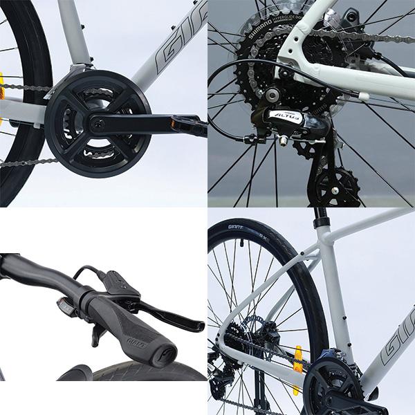 Hệ thống truyền động đa cấp xe đạp giant escape 2