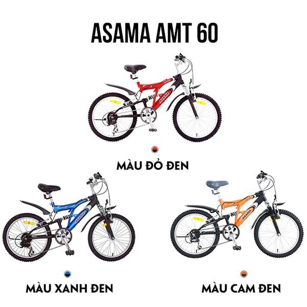 Các màu xe đạp asama amt 60