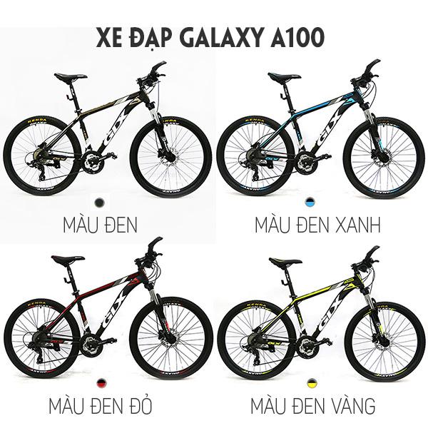 Màu sắc xe đạp galaxy a100