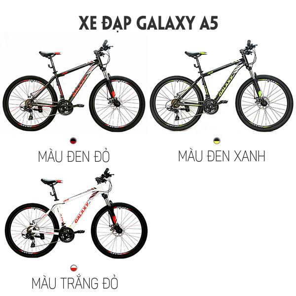 màu sắc xe đạp galaxy A5