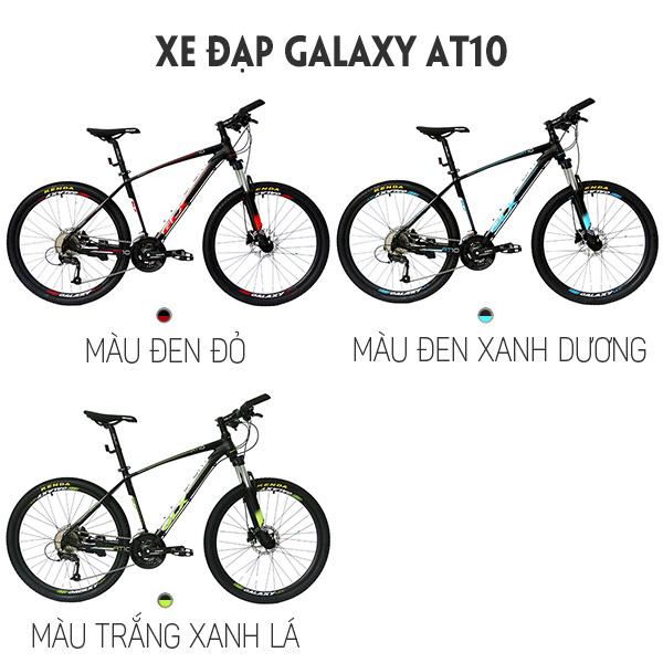 màu sắc xe đạp galaxy AT10