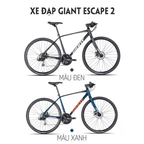2 màu sắc xe đạp giant escape 2